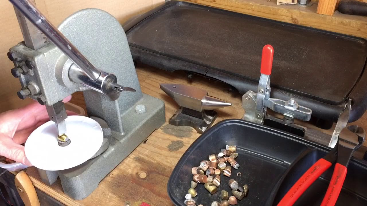 An easy way to cut jacketed bullets from range scrap for casting