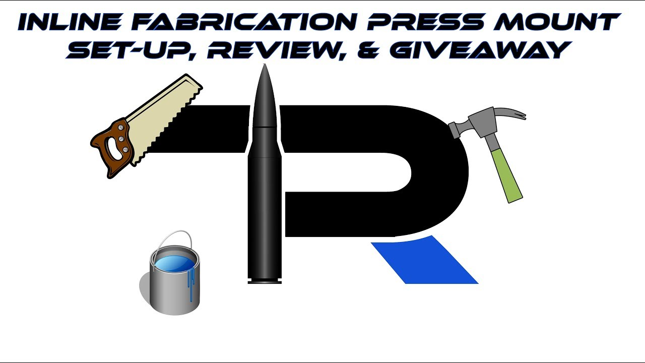 Inline Fabrication Reloading Press Ultramount Junior assembly and giveaway