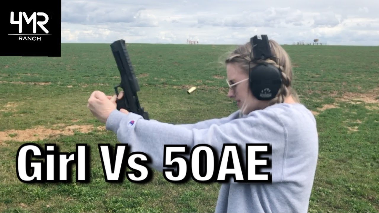 Katie Shoots the DESERT EAGLE (Gone Wrong)