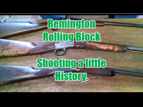 Remington Rolling Block - Shooting a little History
