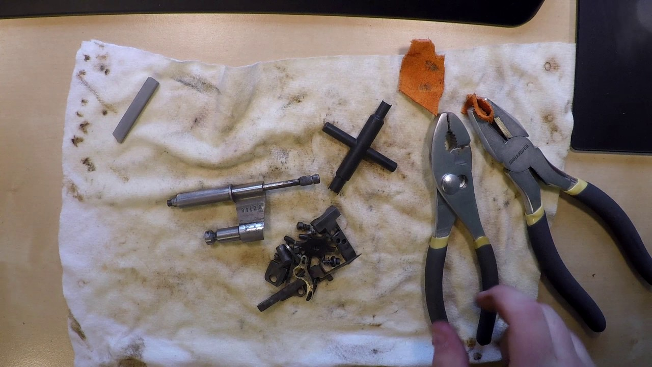 Colt Revolver Crane Disassembly