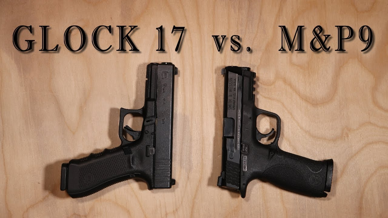 Glock17 vs MP9 - Comparison