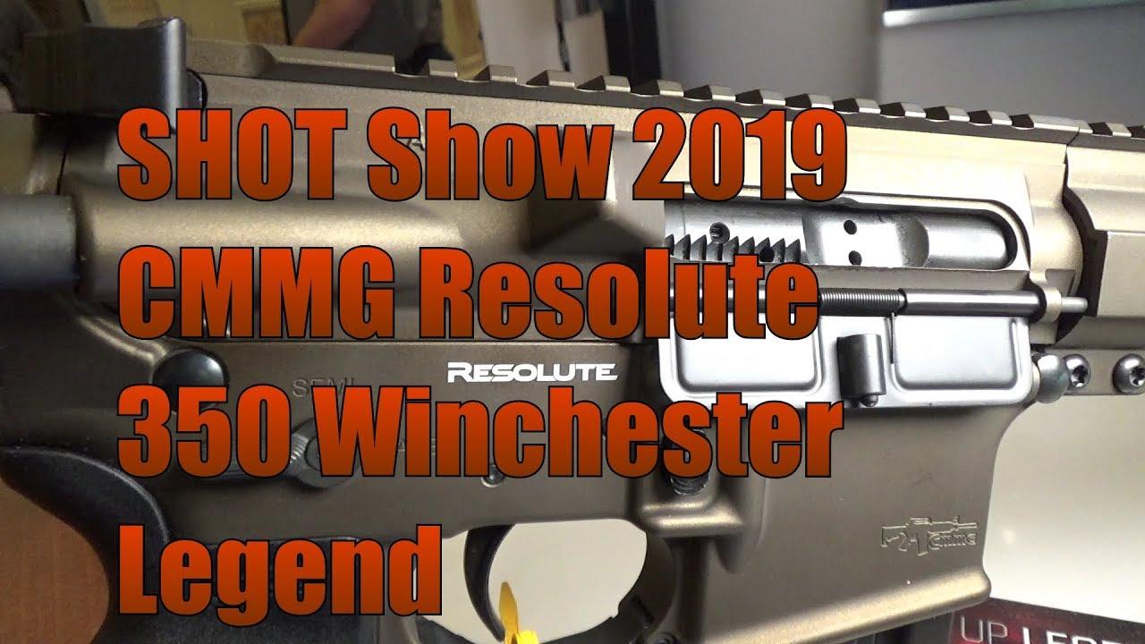 SHOT Show 2019 CMMG Resolute 350 Winchester Legend