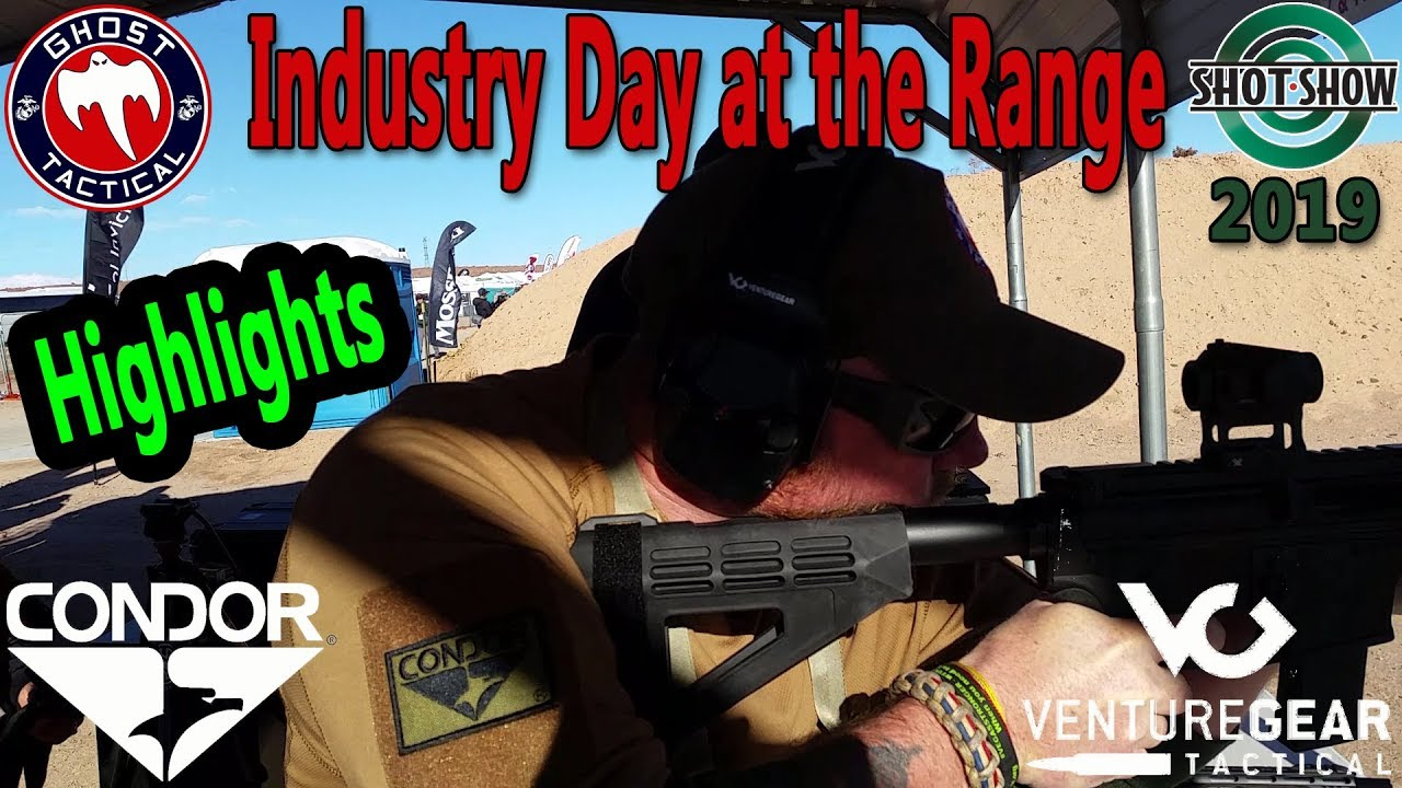 Shot Show 2019:  Industry Day At The Range Highlights:  Ghost Tactical