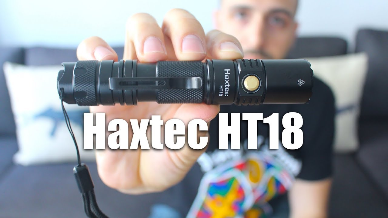 Best Budget Tactical Flashlight? Haxtec HT18 (960 Lumens!)