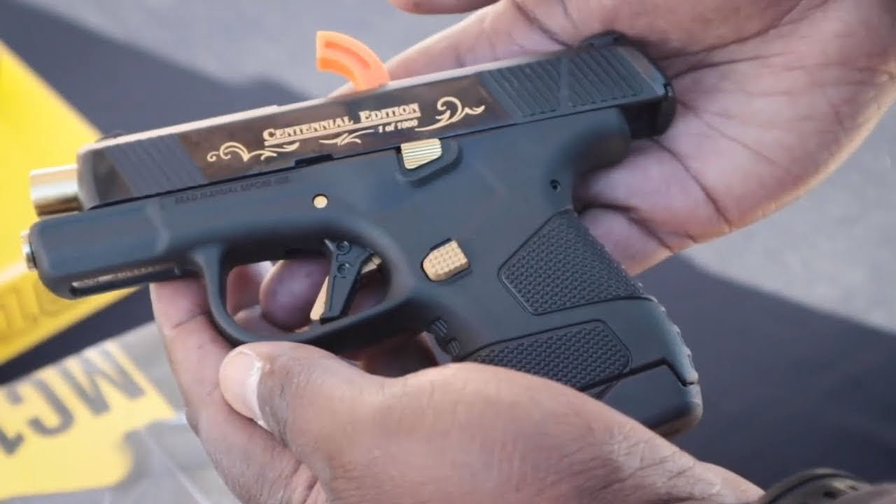 Mossberg MC1 // New 2019 EDC Concealed Carry Handgun // SHOT Show 2019