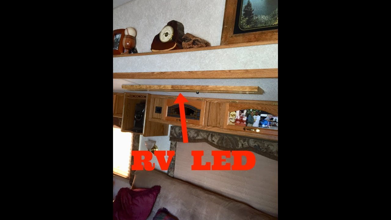 Live edge RV LED LIght, Littlewierdshop