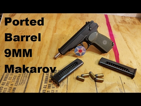 Ported Barrel  Bulgarian Makarov First Impressions Review
