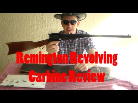 Remington Revolving Carbine Review
