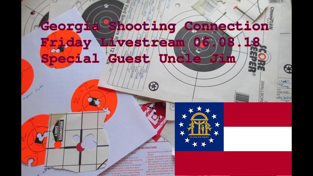 Georgia Shooting Connection Friday Night Livestream 06.08