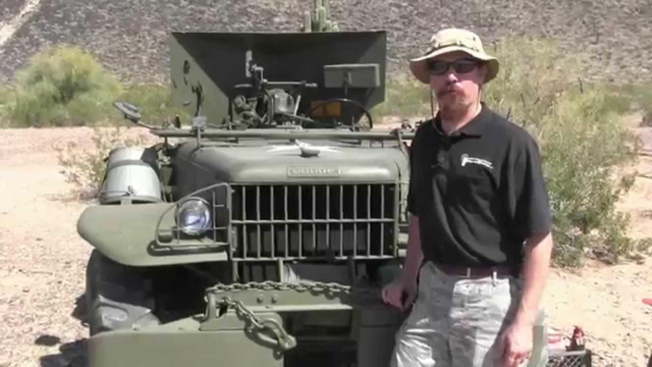 37mm Antitank Gun on a Dodge Weapons Carrier - M6