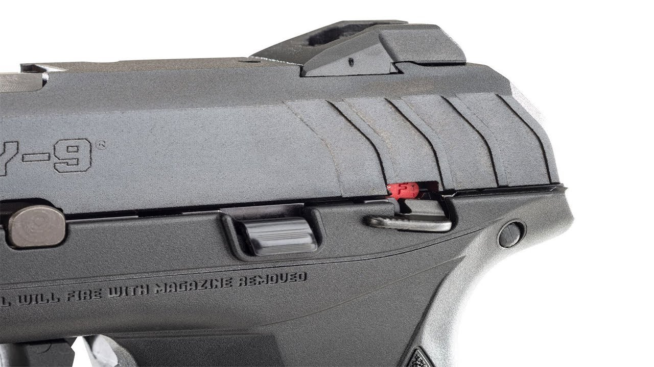 Why does the Ruger Security 9 have a Thumb Safety? #336