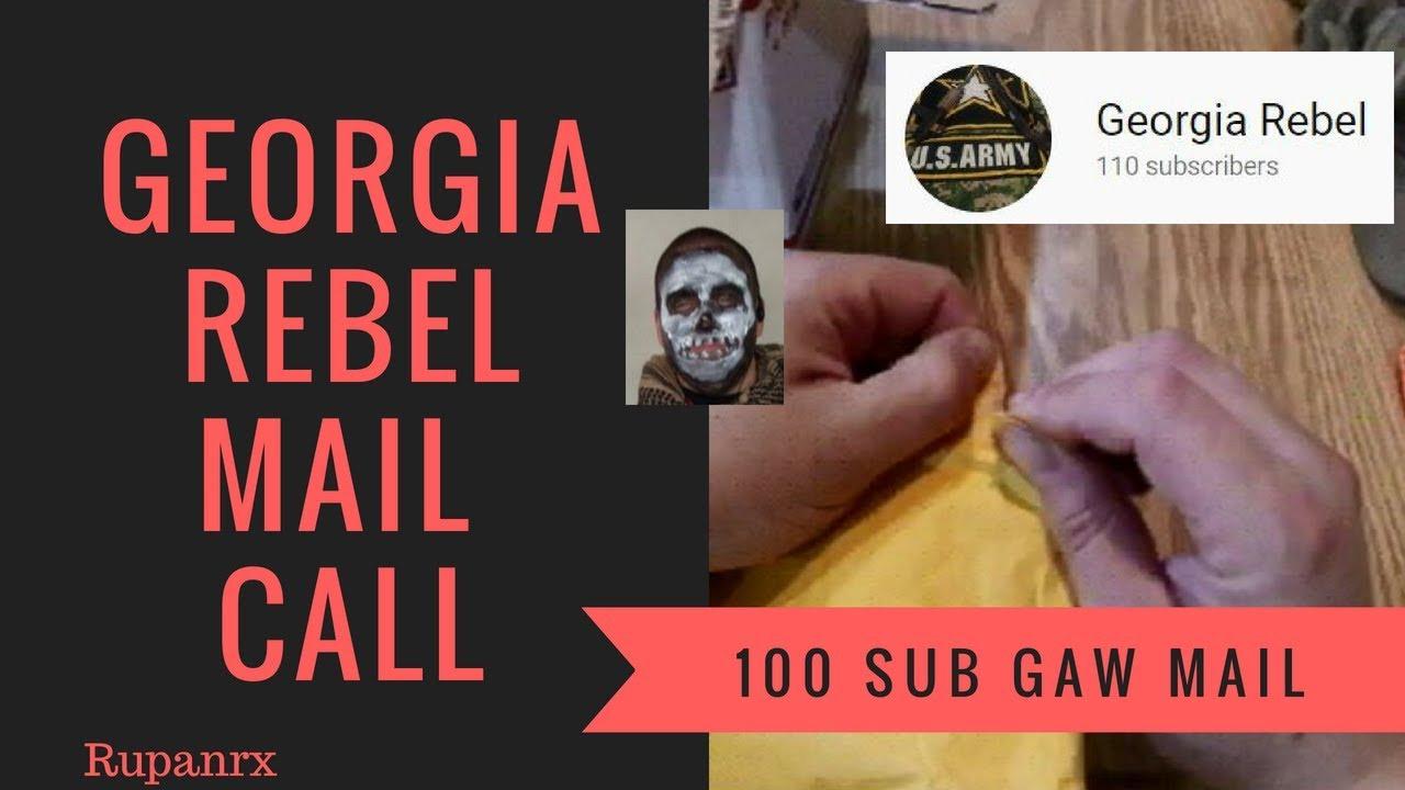 Georgia Rebel 100 Sub GAW MAIL CALL