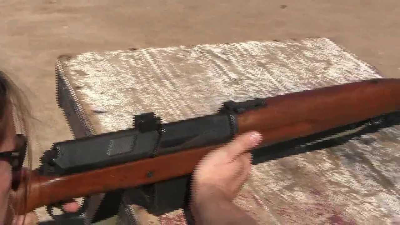 Hakim Rifle in the 2-Gun Action Challenge Match