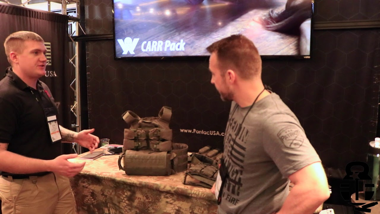 High Risk Training - HRAC II Plate Carriers at Shot Show 2019