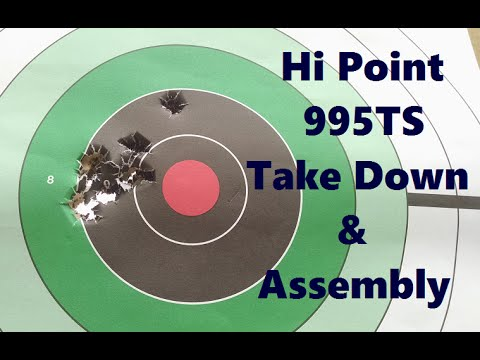 HI Point 995TS First Timers take down, assembly & first impressions