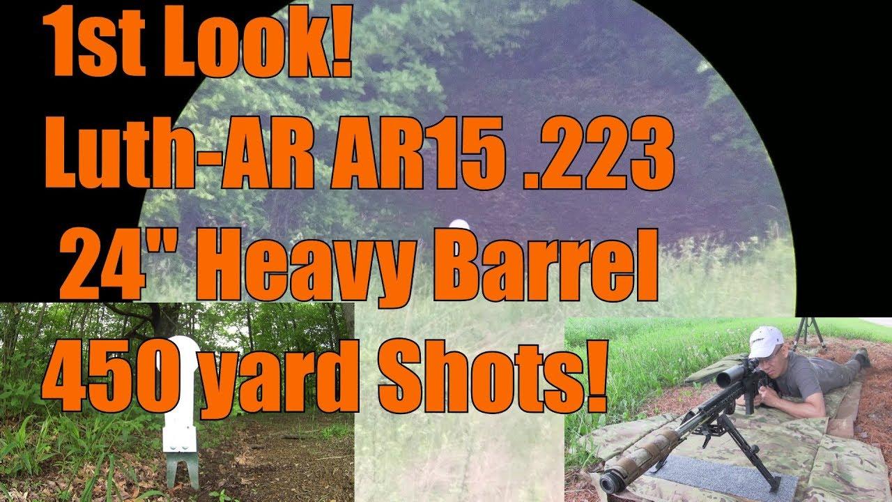 First look at The Luth AR AR15 24