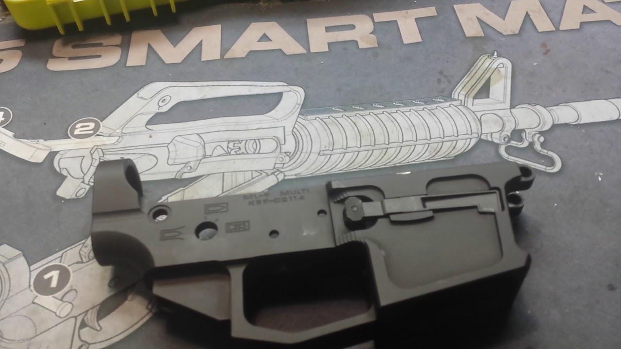 Spartan 9 mm AR Lower stripped joe bob outfitters