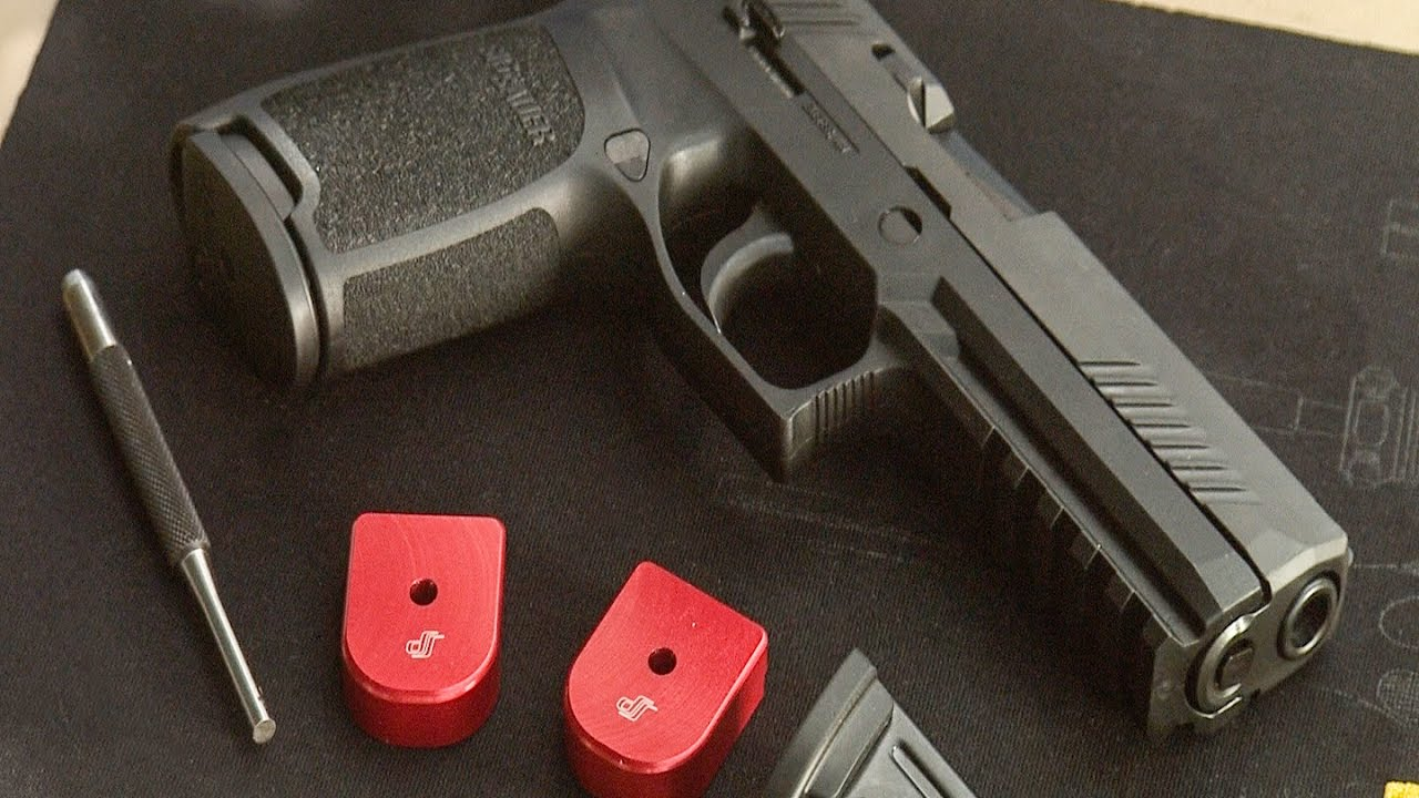 How to install Springer Precision Basepads on the Sig P320 #164