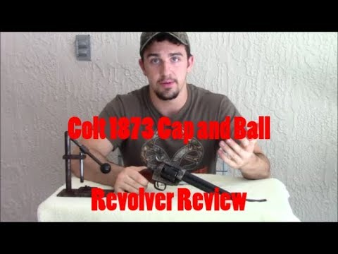 Overall Impressions of the Colt 1873 Cap and ball Revolver