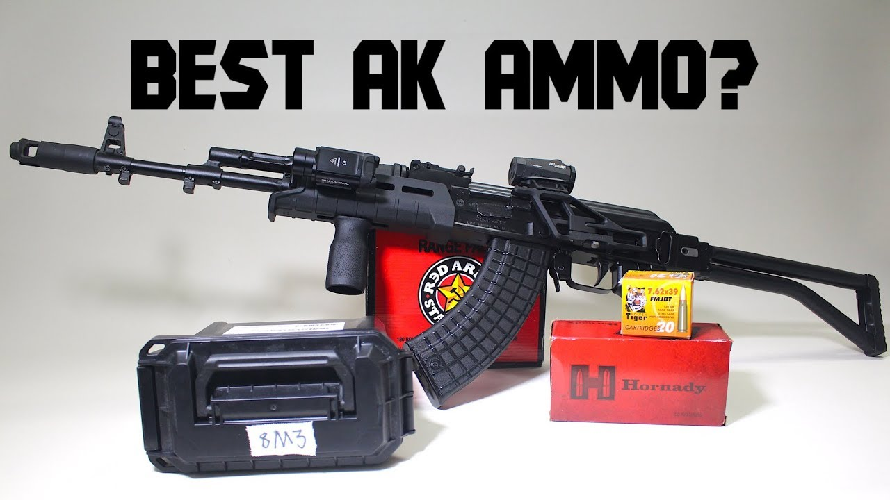 Best AK Ammo? Red Army Standard, Golden Tiger, Hornady SST, and 8M3