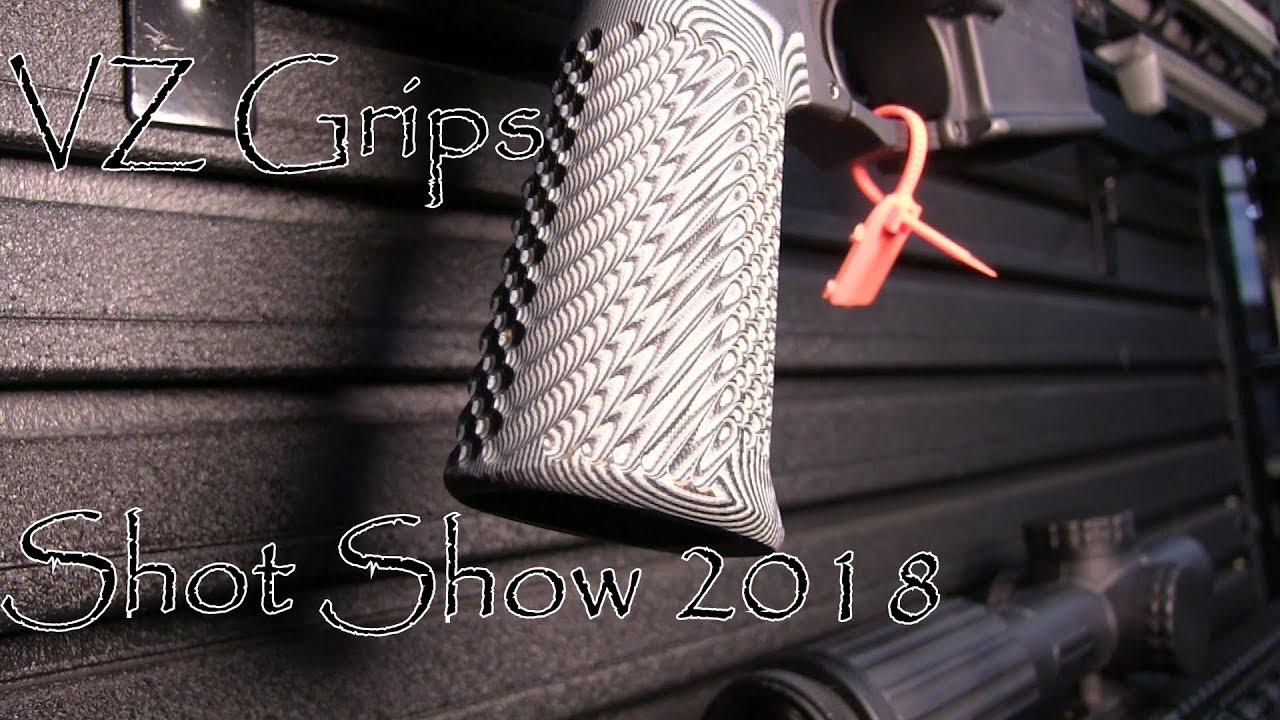 Shot Show 2018 VZ Grips