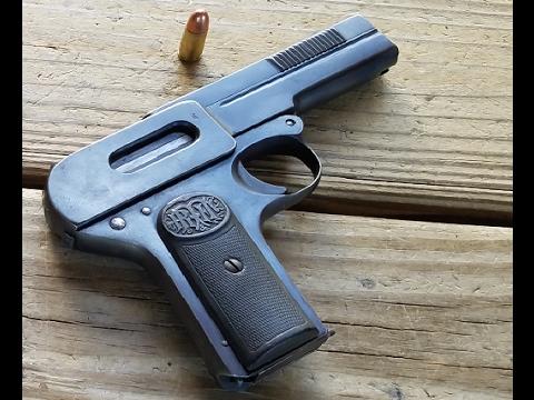History & Shooting Grandpa's WW2 Bringback Gun (1907 Dreyse)