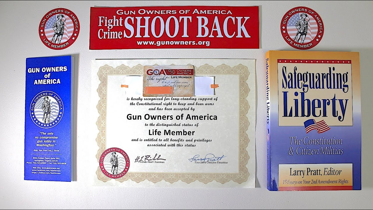 GOA Life Membership (Gun Owners of America)