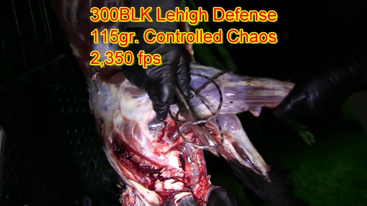 Lehigh Defense Lehigh Hunting 6th Night Last Chance South Texas Feral Hogs 9mm 90gr Xtreme Defense 3