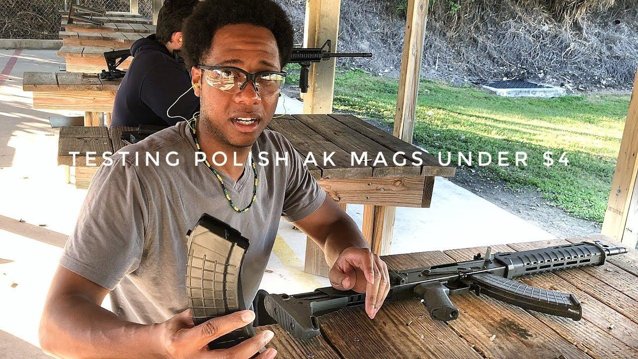 Polish AK Magazines Under $4 - Review
