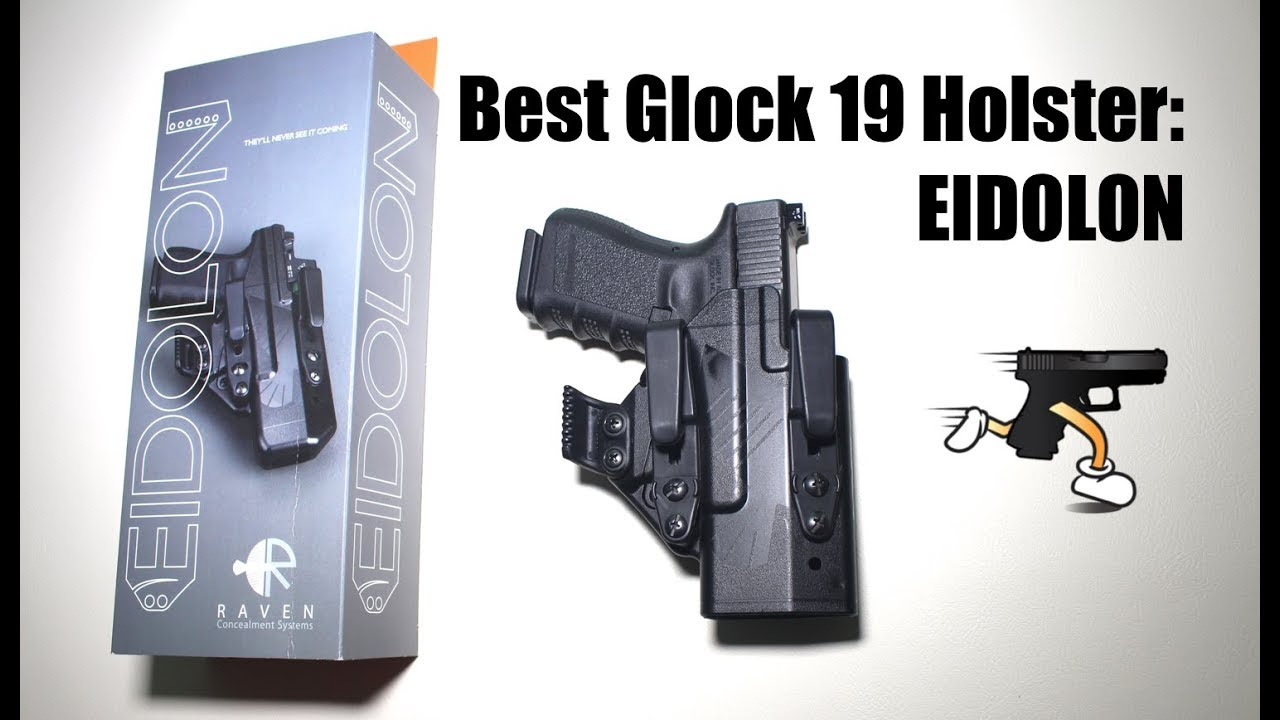 Best Glock 19 Holster: The Eidolon by Raven Concealment