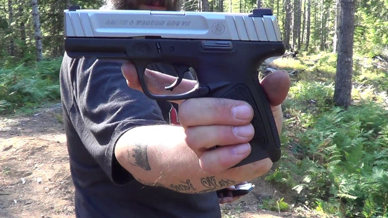Smith and Wesson SD9VE First Shots