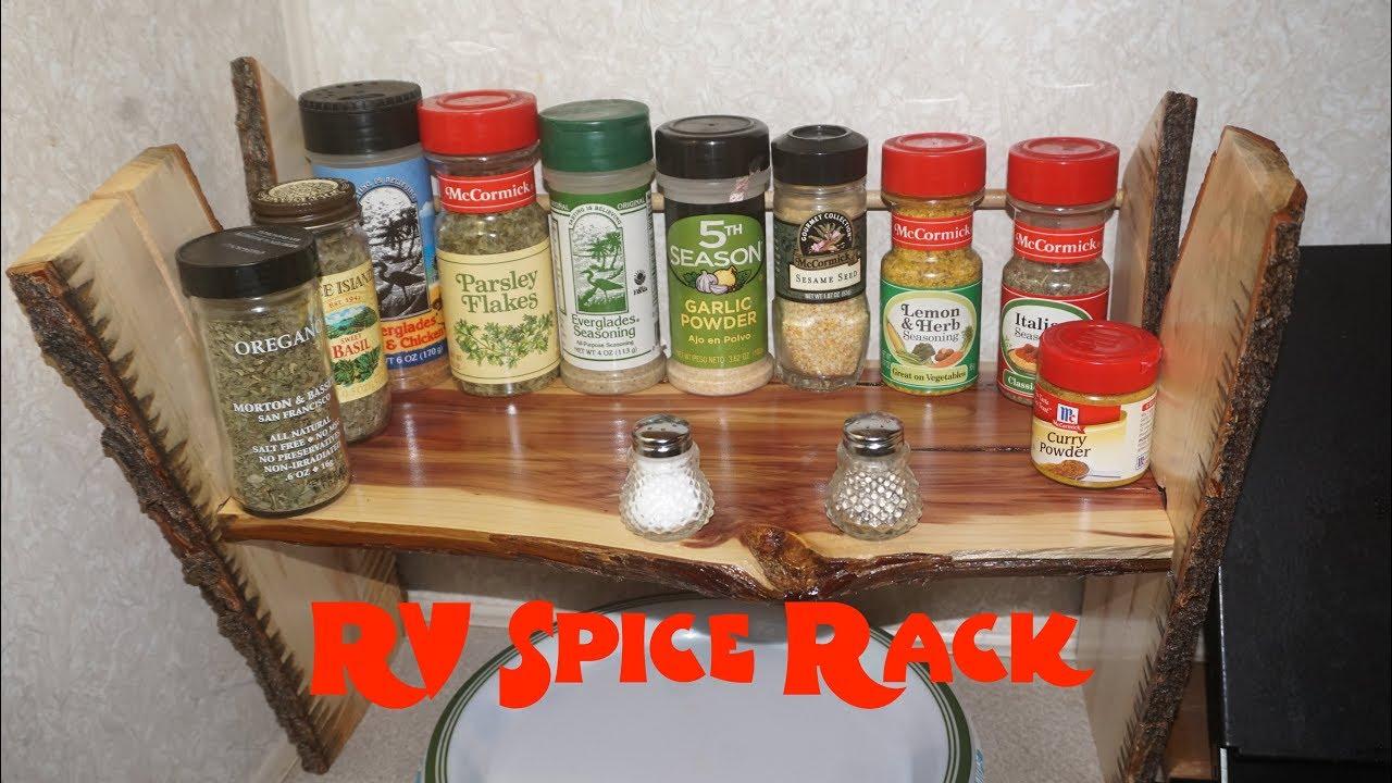 WICKED COOL, RV Spice Rack by Littlewierdshop