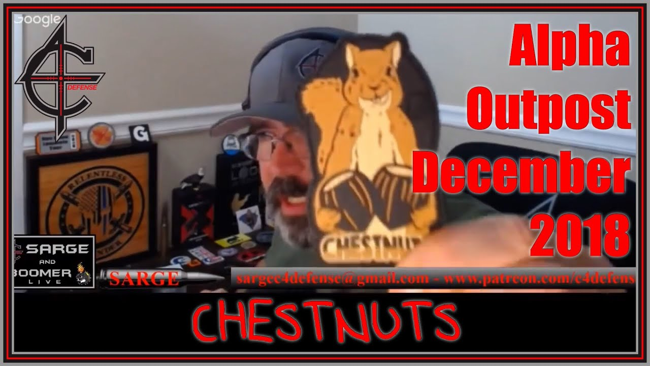 Alpha Outpost December Chestnuts Unboxing LIVE