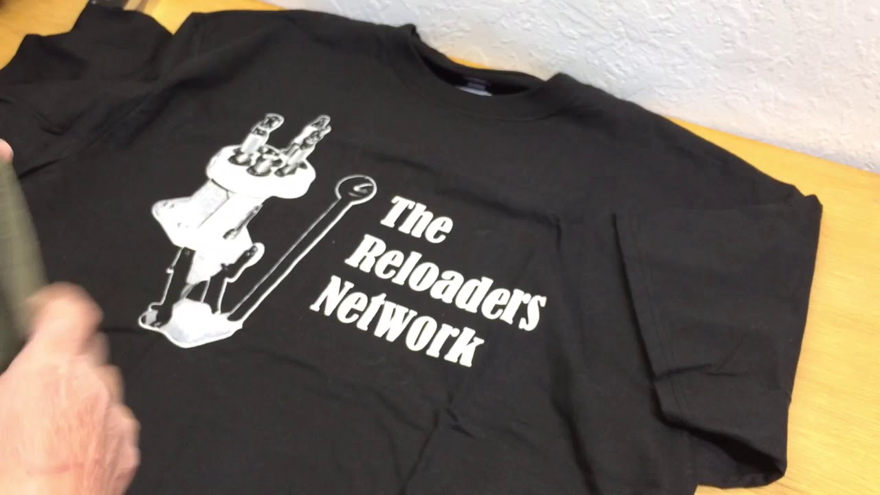 The reloaders network T-shirt unboxing, What the?!?