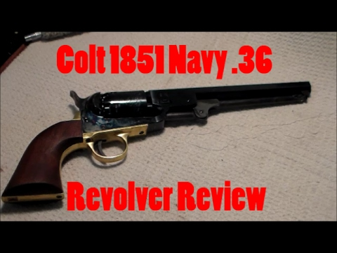 Colt 1851 Navy .36 Revolver Review