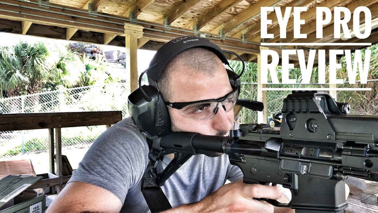 Shooting Glasses Review (Paper Thin Temple Design)