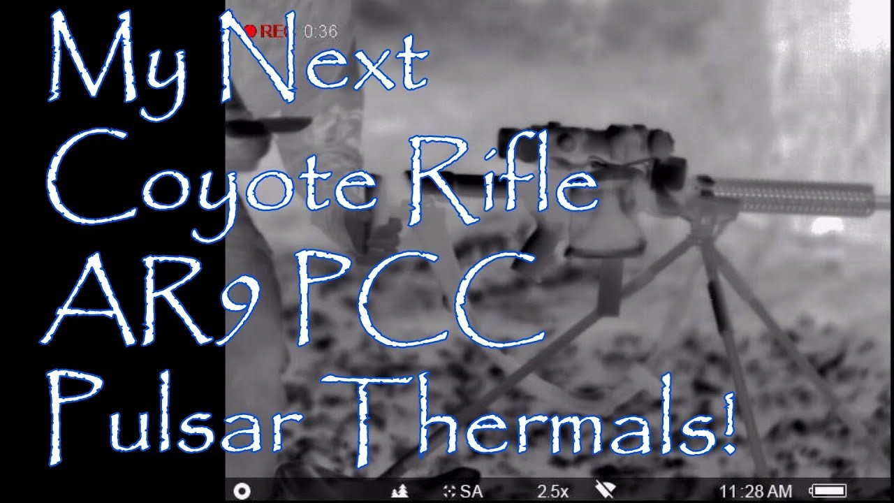 My Next Coyote Rifle AR9 PCC Pulsar Apex Helion Thermal Lehigh Defense Subsonic 125gr XD