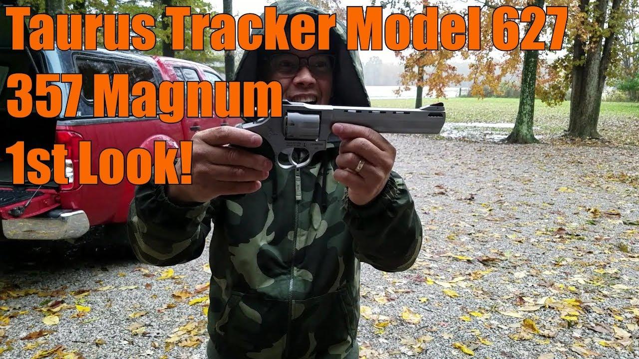 Taurus Tracker Model 627 357Magnum 1st Look
