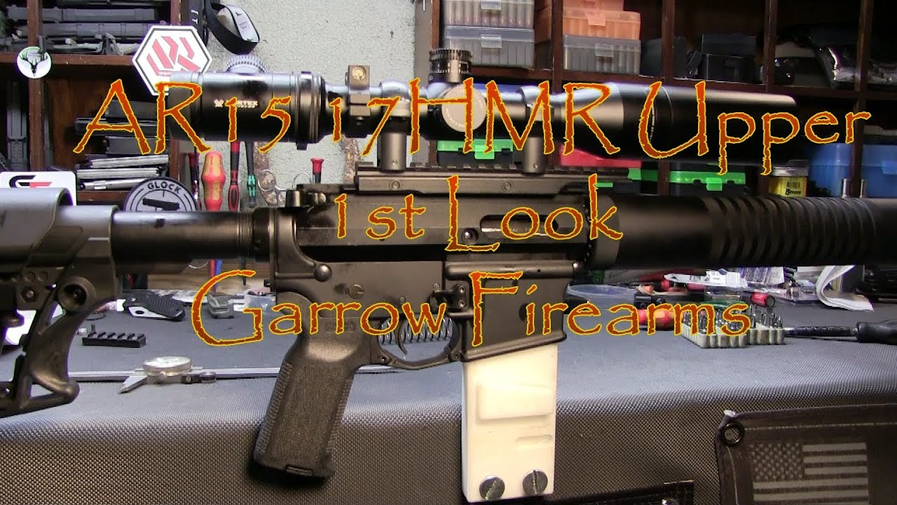 Garrow GFD 17HMR Upper 1st Look AR17HMR