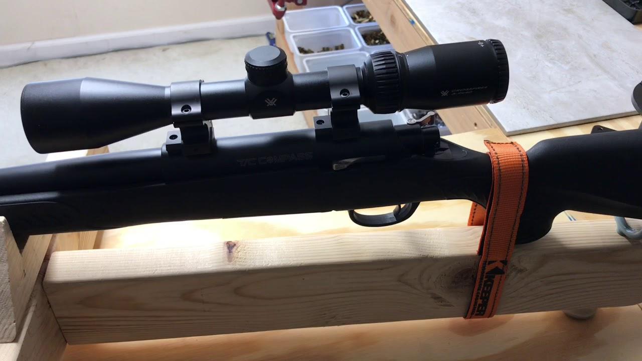 Homemade rifle cradle
