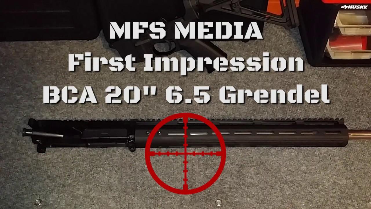 6.5 Grendel Upper under $350 - Bear Creek Arsenal 20in 6.5 Grendel First Impressions