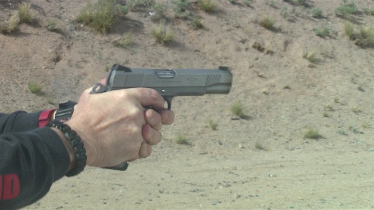 Colt Gunsite Pistol Slow Motion Shooting #130