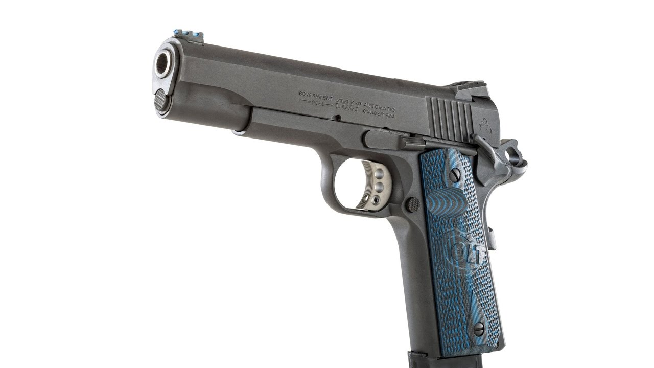 Review of the Colt Competition Pistol Part 1 #128