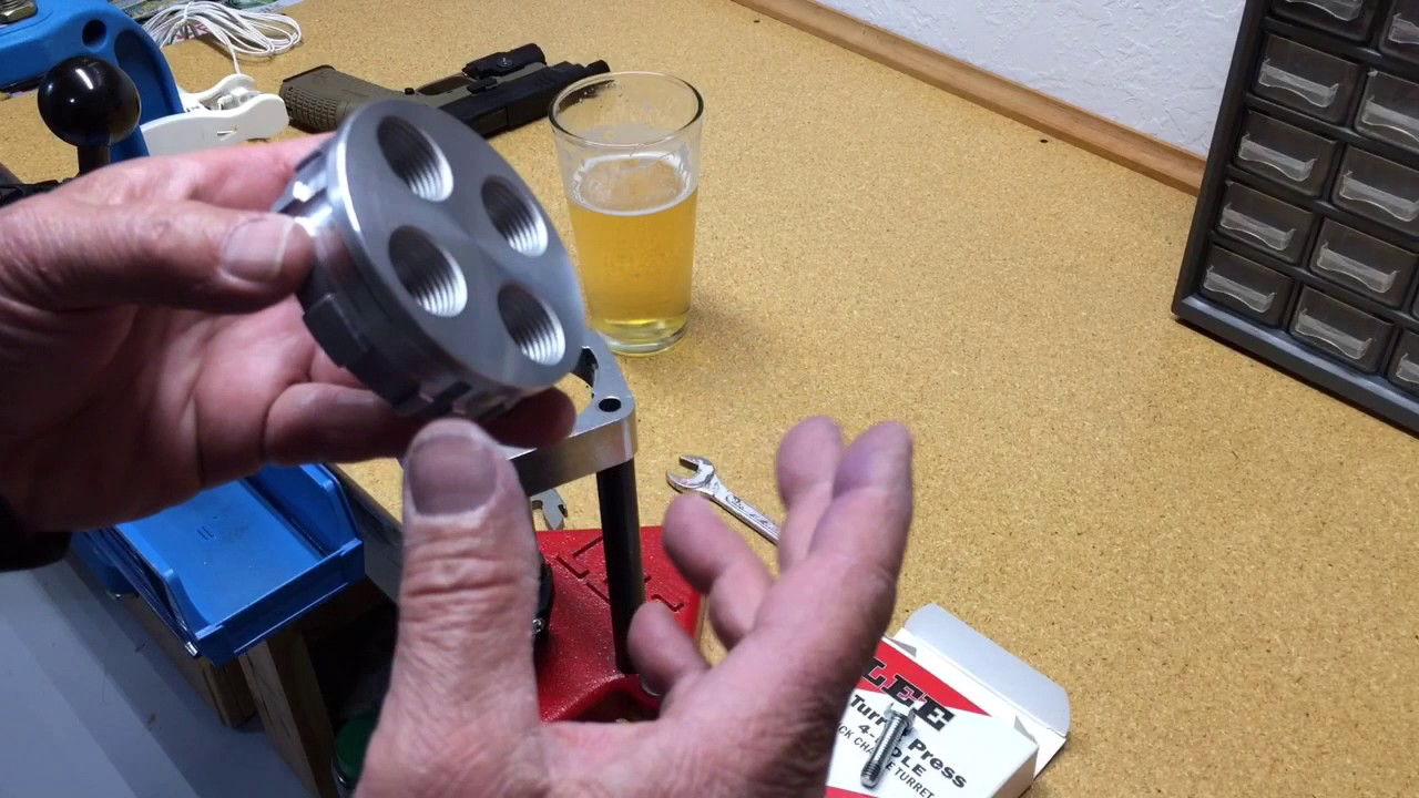 Lee 4 hole turret press grinding problem? Fix? Lol?