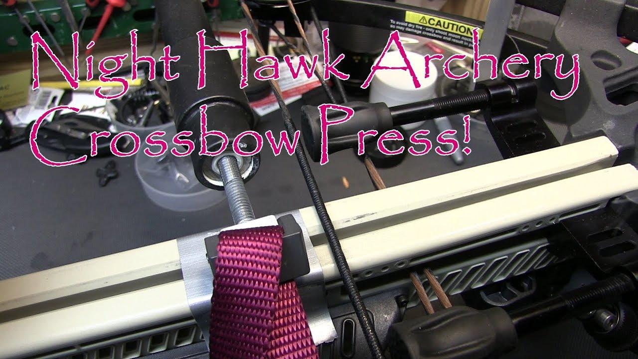 Night Hawk Archery Portable Crossbow Press