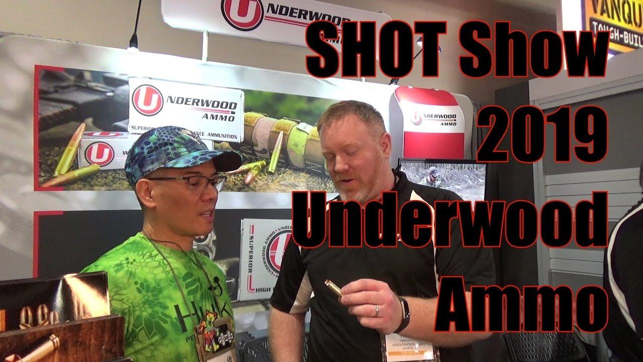 SHOT Show 2019 Underwood Ammo