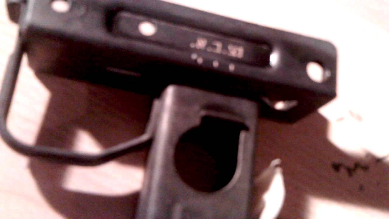 uzi 9mm lower build part6