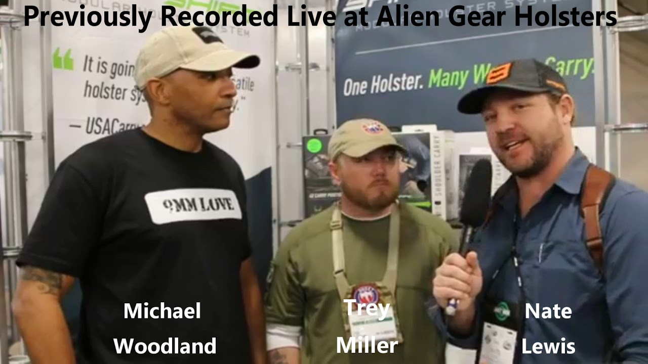 Ghost Tactical & M-W Tactical Interview with Alien Gear Holsters:  SHOT Show 2019