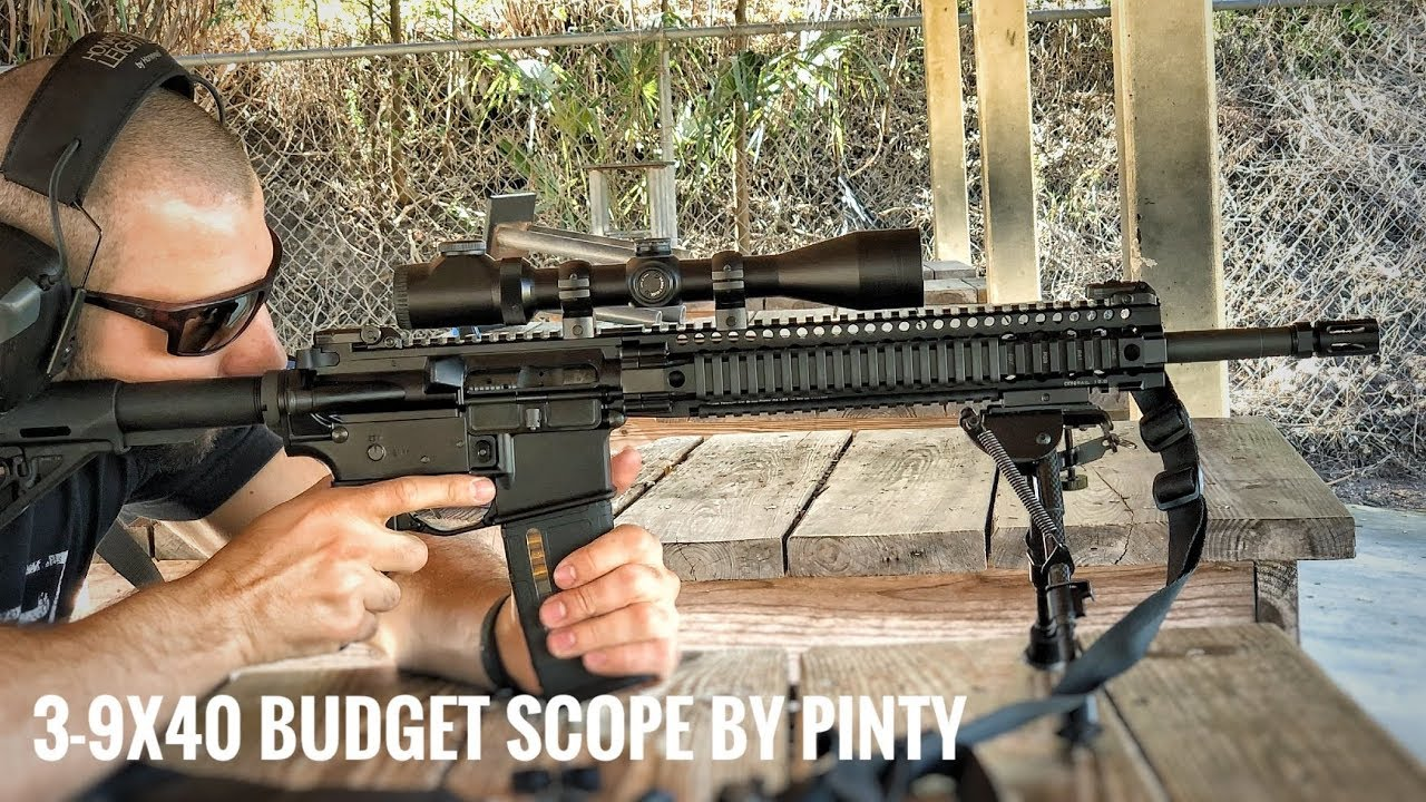 Pinty 3-9X40 Budget Rifle Scope Review